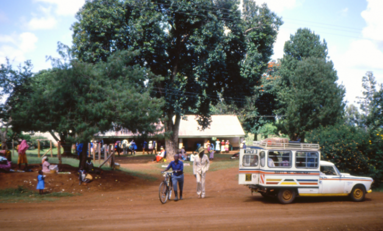 Kenyanska landsbygden