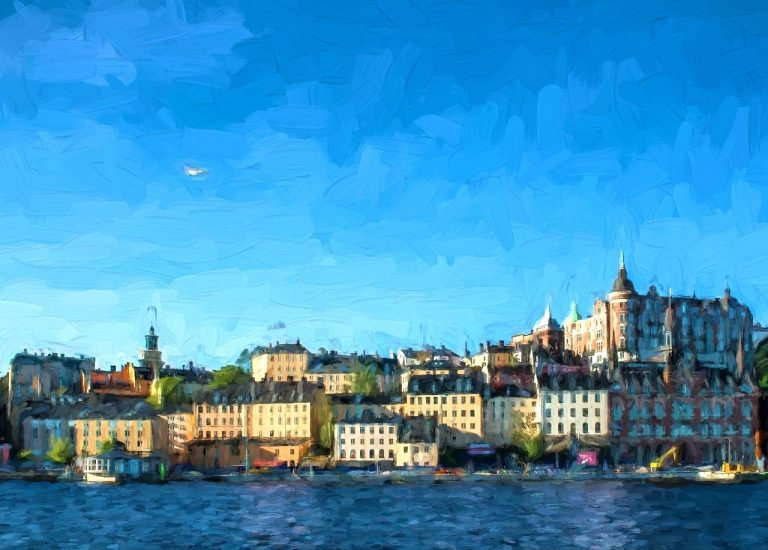 Stockholm during summer.